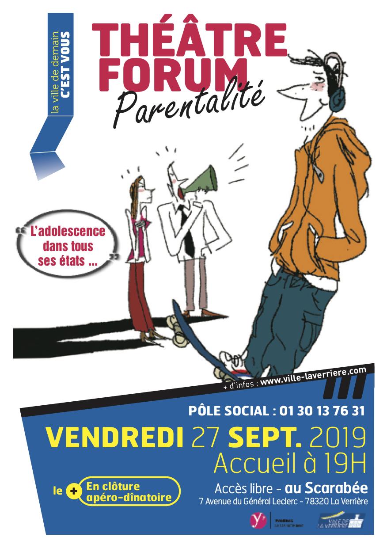 La Verrière Forum Parentalité septembre 2019